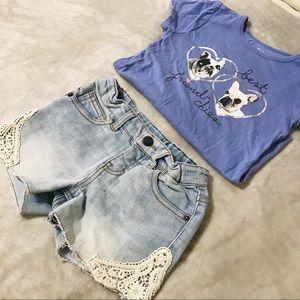 Girls Shorts Sz XS